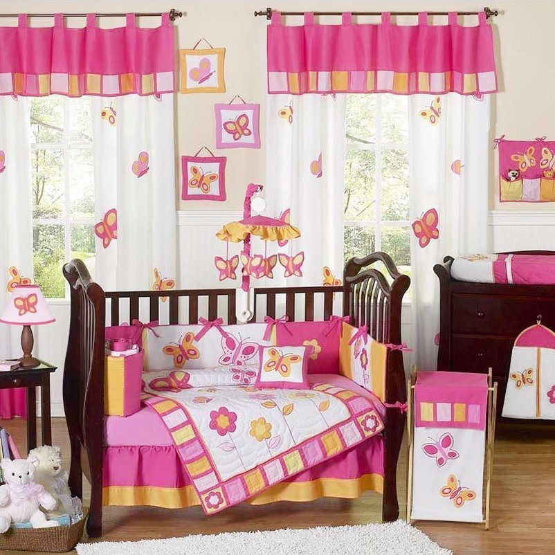 Toddler Girl Bedroom Sets: Baby Girl Bedding Sets For Cribs