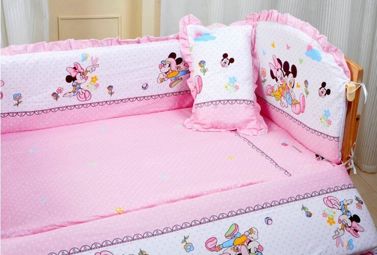 baby minnie mouse crib bedding set home furniture design