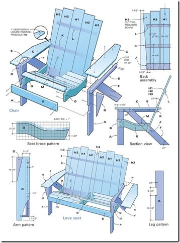 Best Adirondack Chair Plans Home Furniture Design