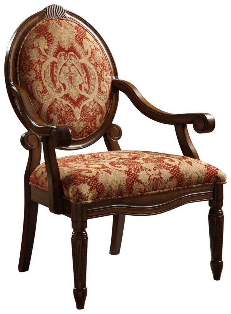 Burgundy Accent Chair Home Furniture Design