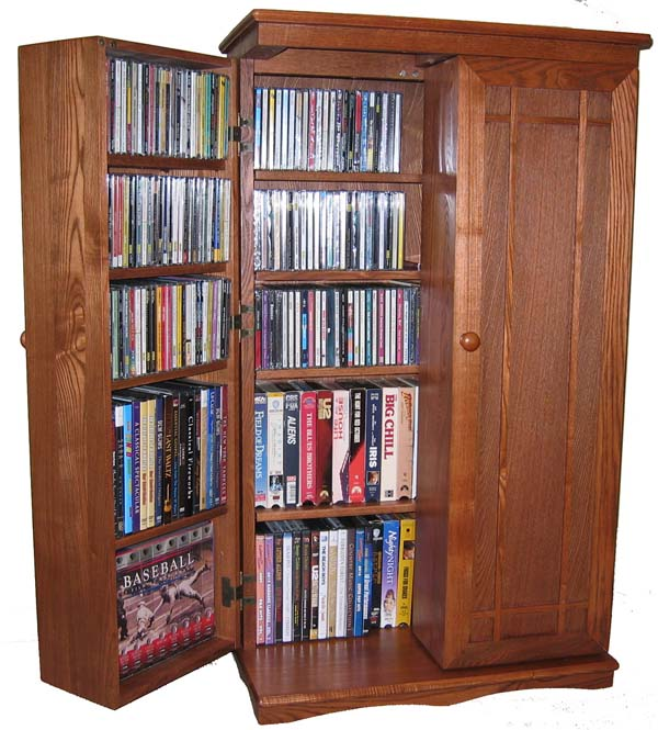 Cd Storage Cabinet Wood Home Furniture Design