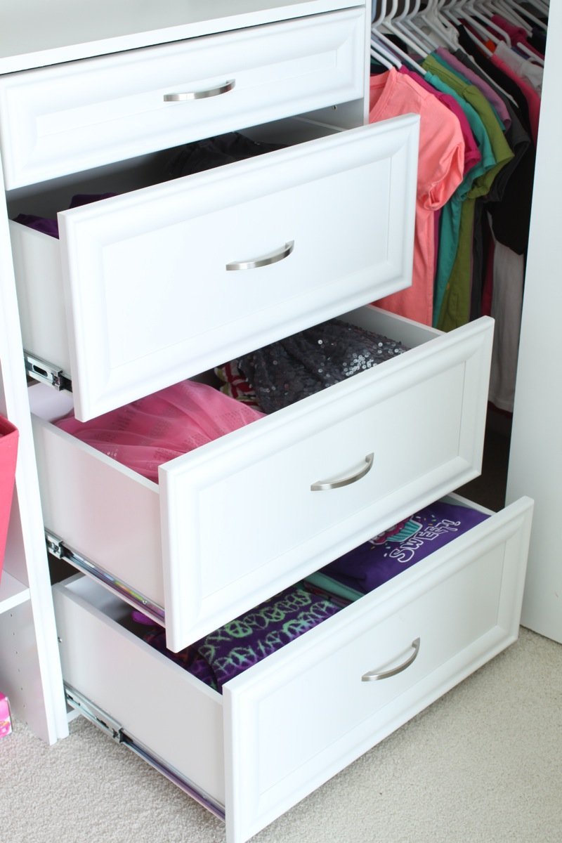 Closet Dresser Drawers Home Furniture Design