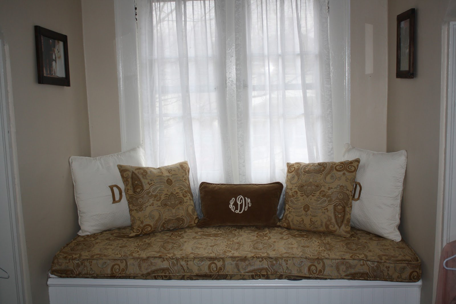 Custom Window Seat Cushions Indoor Home Furniture Design
