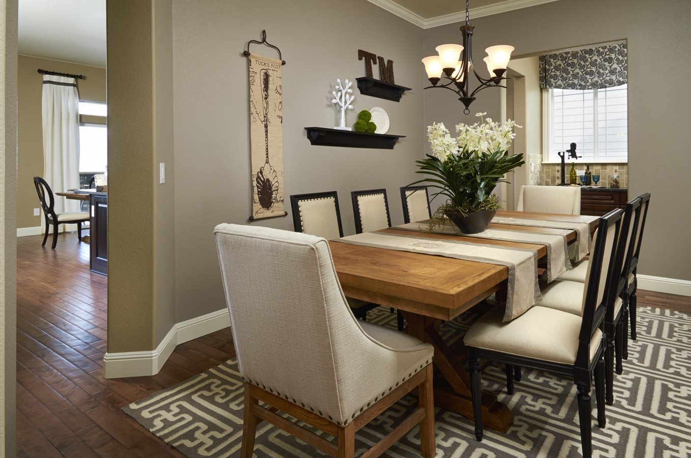 Dining Room Table Setting Ideas - Home Furniture Design