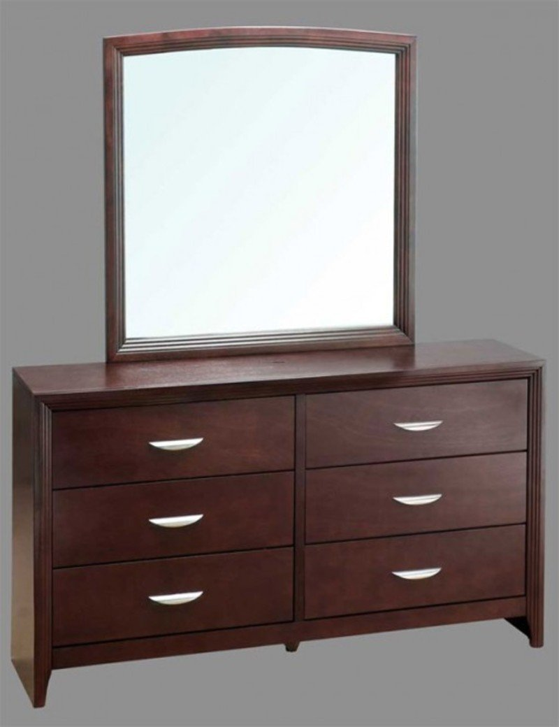 drawer double dressers with mirror home furniture design