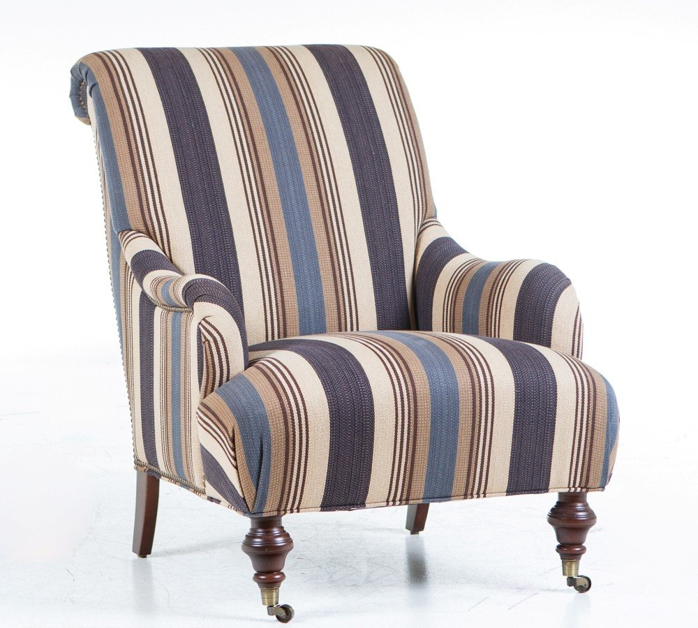 Fabric accent chairs for living room home furniture design for Side chairs for living room