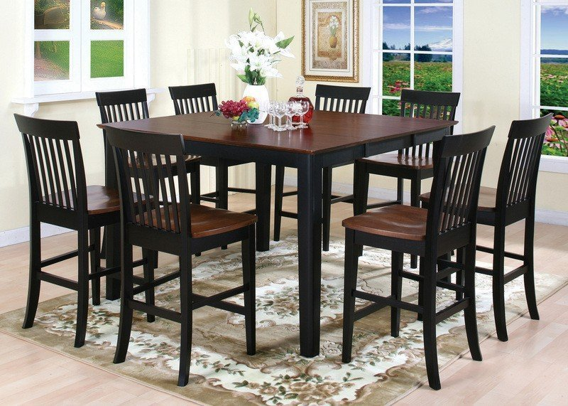 High Top Dining Room Table Sets Home Furniture Design