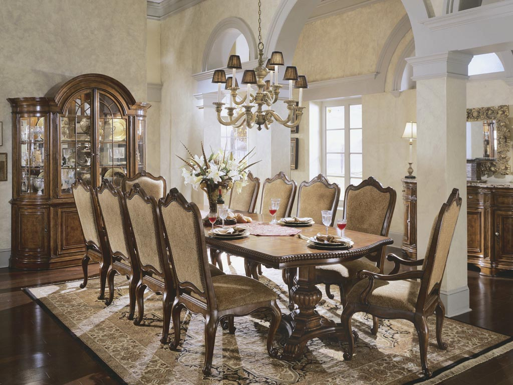 Large dining room table sets home furniture design for Large dining room table