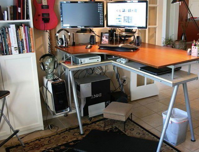 lifehacker standing desk ikea home furniture design
