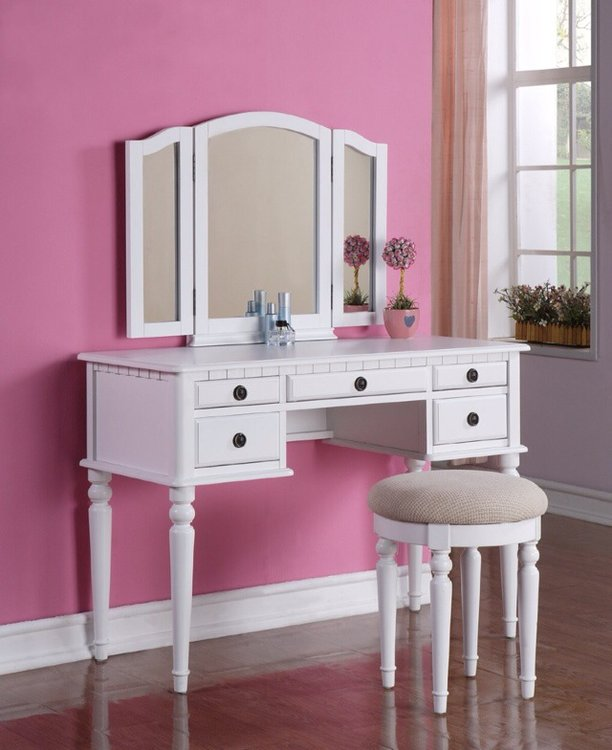 Makeup Desk With Mirror Home Furniture Design