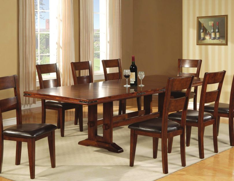 Mango wood dining chairs home furniture design for Wooden dining chair designs