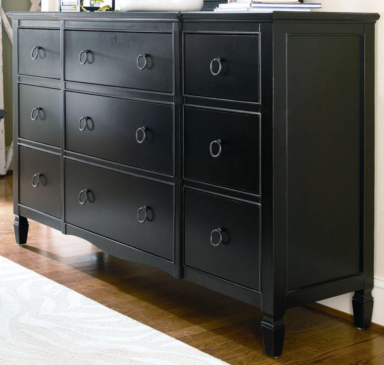 Nine Drawer Dresser Home Furniture Design