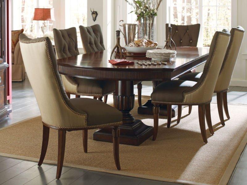Pedestal dining room table sets home furniture design for Pedestal dining table sets