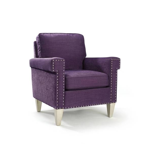 Plum Accent Chair Home Furniture Design