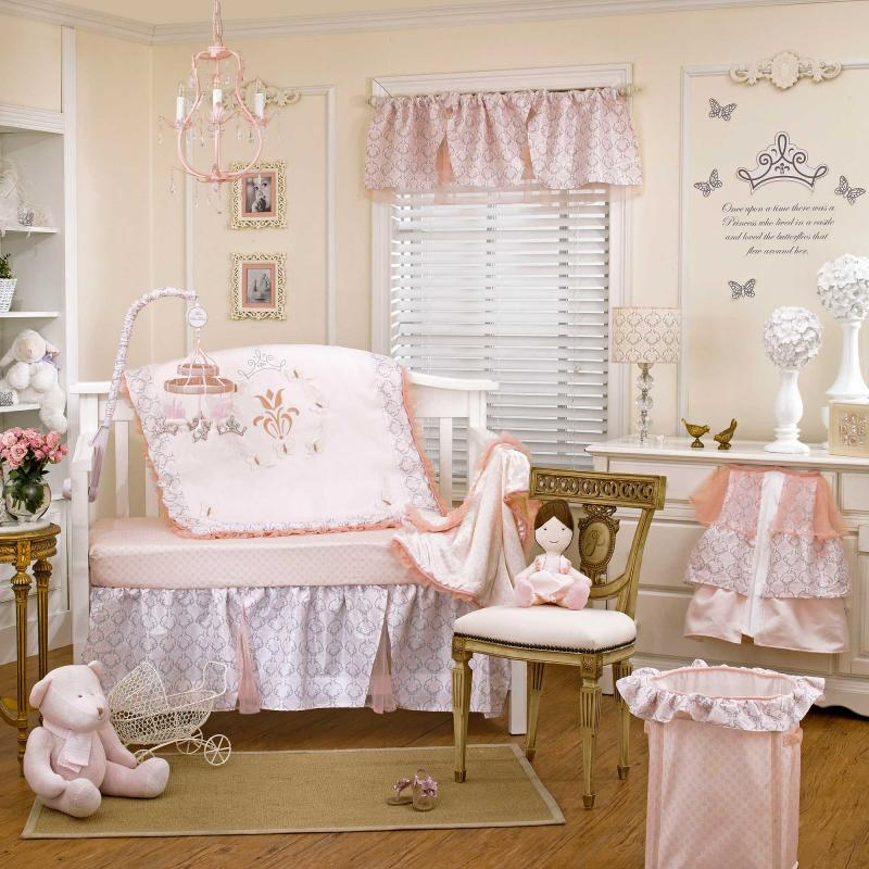 Little Leo S Nursery Fit For A King: Princess Baby Bedding Crib Sets