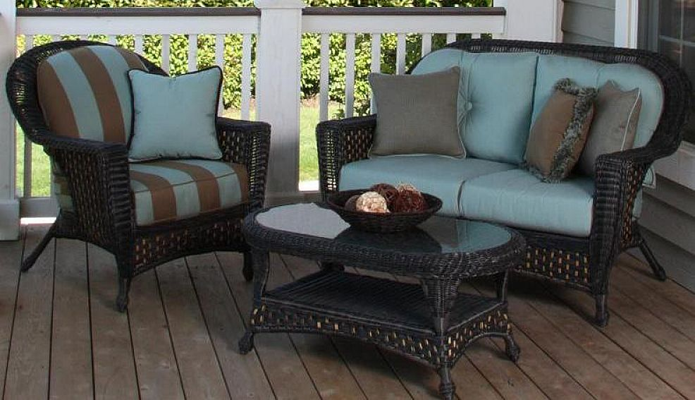 Replacement cushions for wicker patio furniture home - Replacement cushions for wicker patio furniture ...