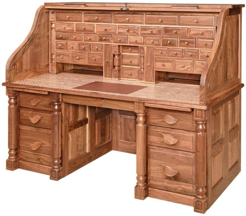 Roll Top Desks Functioning Beauty Home Furniture Design