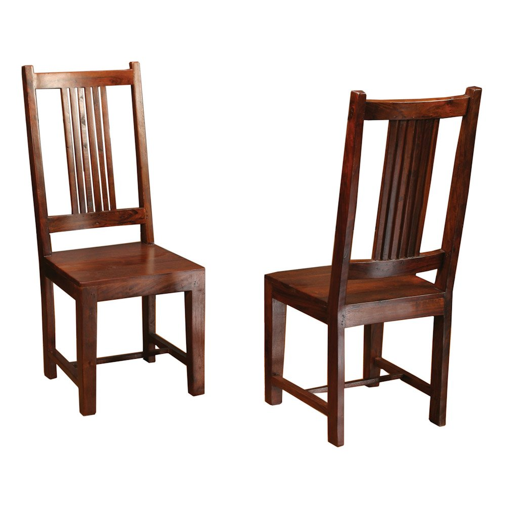 Solid wood dining chairs home furniture design for Oak dining chairs