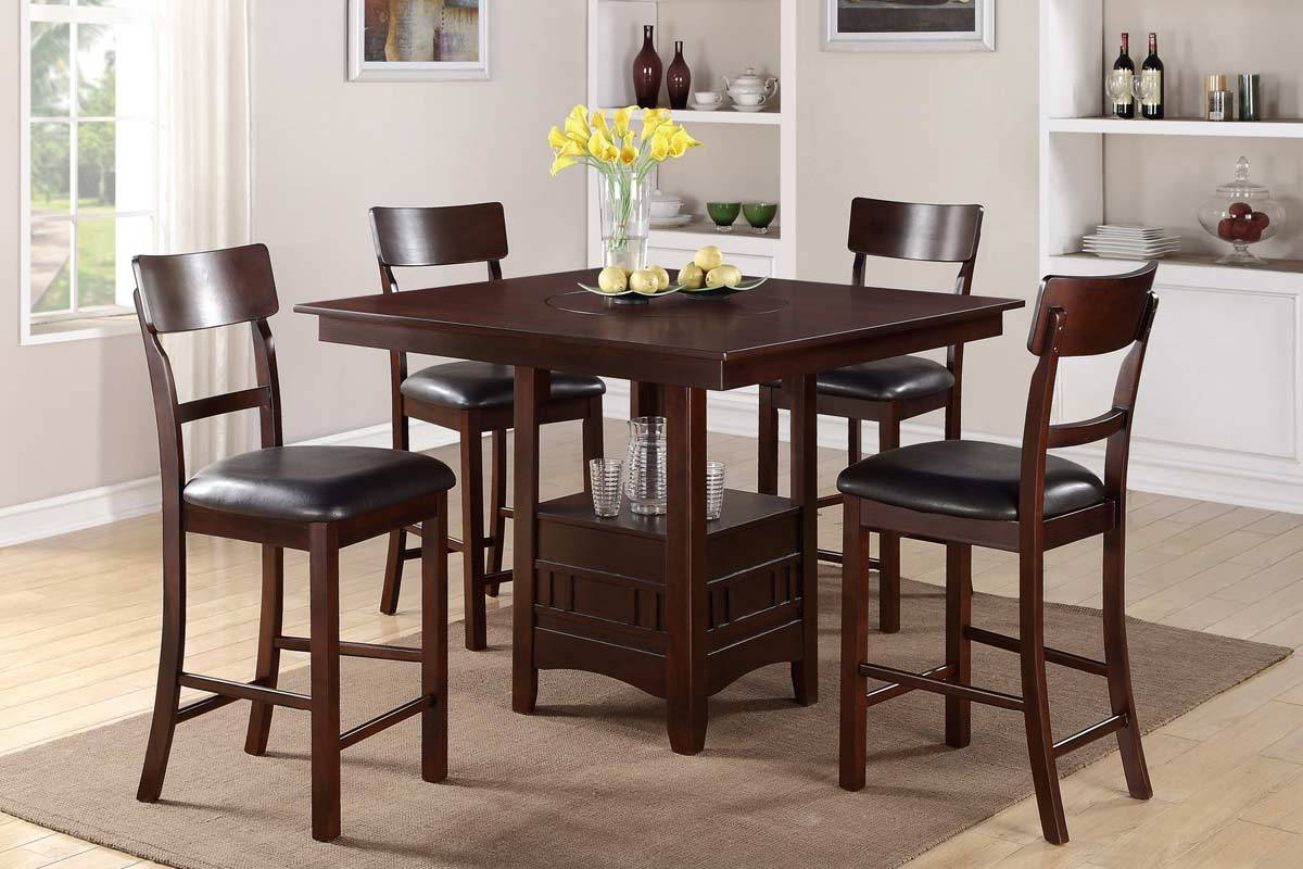 Tall Dining Room Table Sets Home Furniture Design