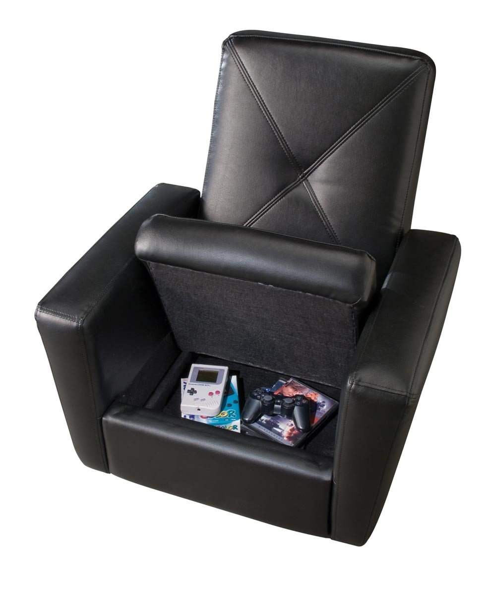Video Game Chair Ottoman Home Furniture Design