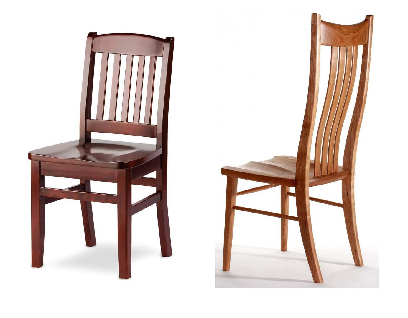Why using wood dining chairs in your dining room home for Wood dining room furniture