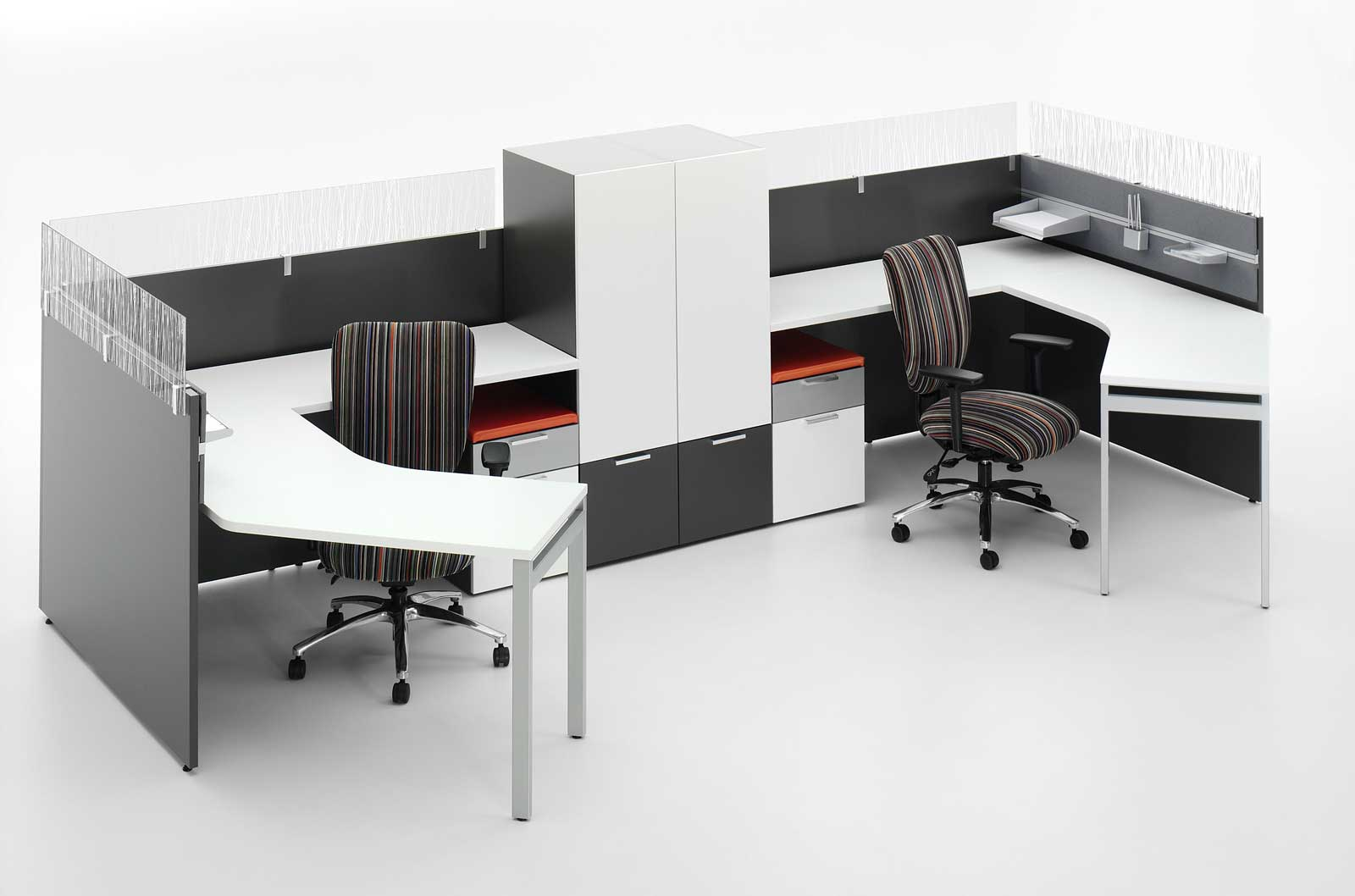 2 Person Office Desk Home Furniture Design