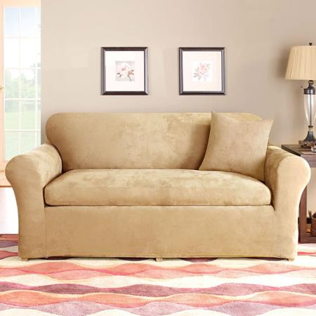 3 Piece Loveseat Slipcover Home Furniture Design