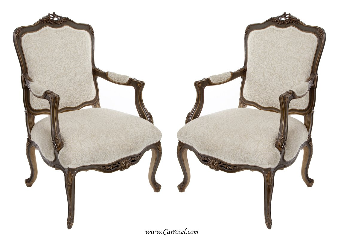 Accent chairs with arms for living room home furniture for Living room with accent chairs