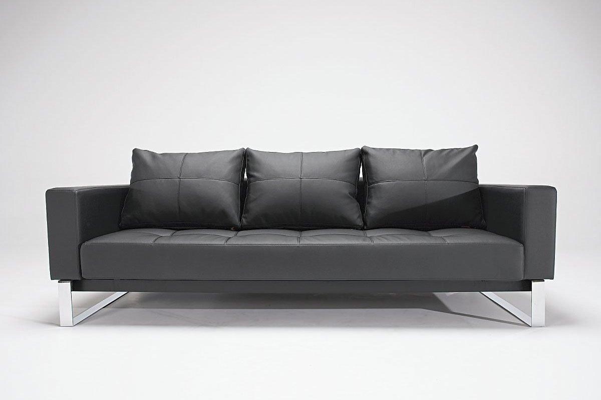 Black Faux Leather Chair: Black Faux Leather Sofa