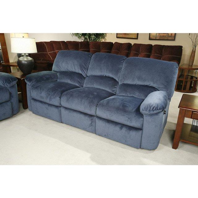 Blue Reclining Sofa Home Furniture Design