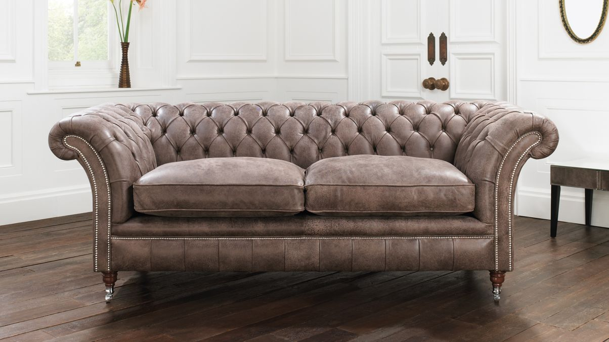 Brown Chesterfield Sofa Home Furniture Design