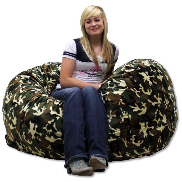 Camo Bean Bag Chair - Home Furniture Design
