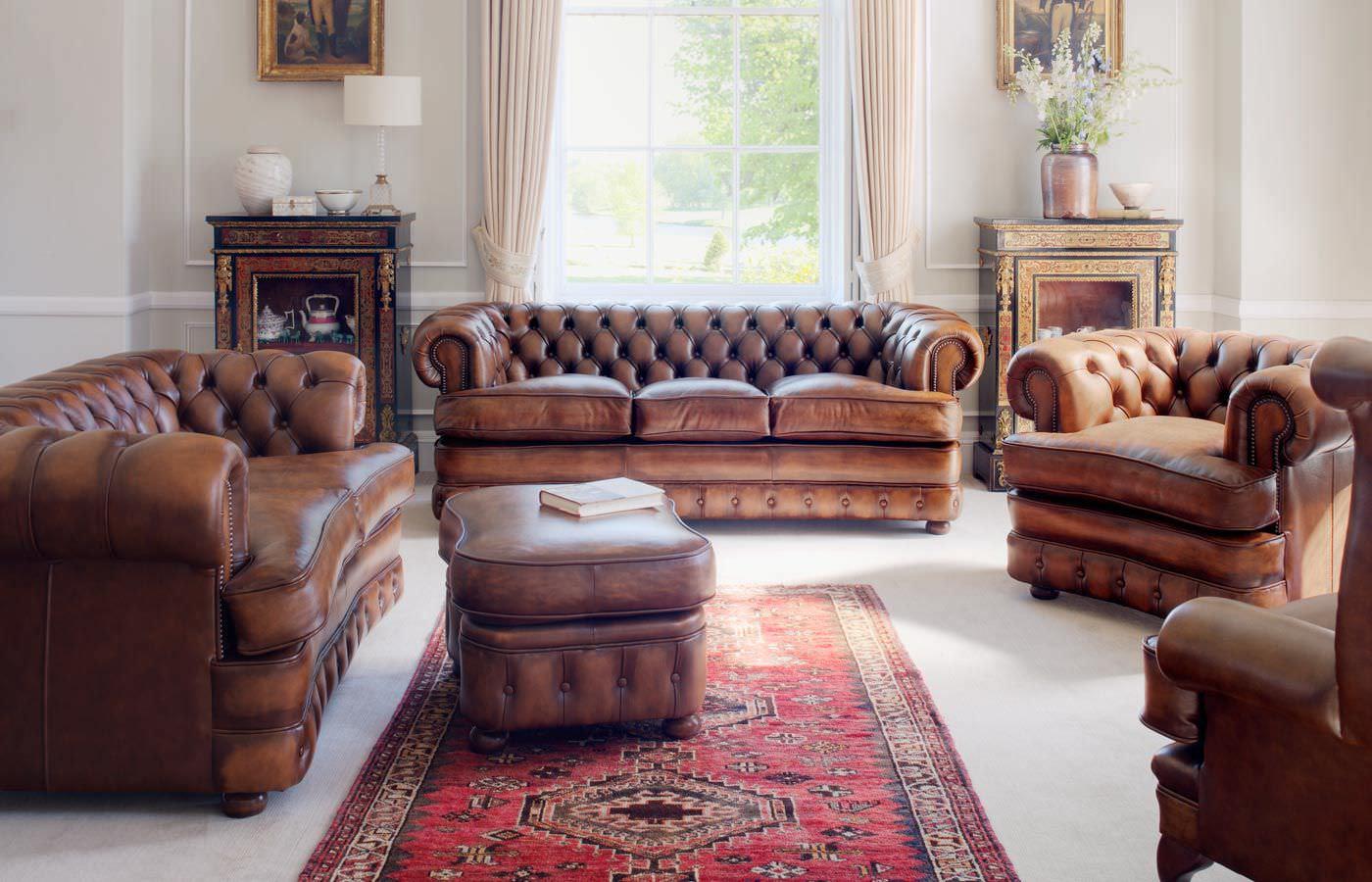 chesterfield sofa set home furniture design. Black Bedroom Furniture Sets. Home Design Ideas