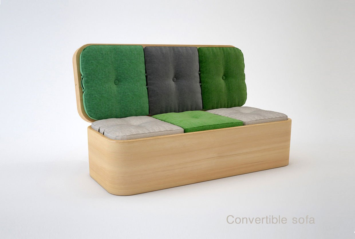 Convertible sofas for small spaces home furniture design - Small space convertible furniture image ...