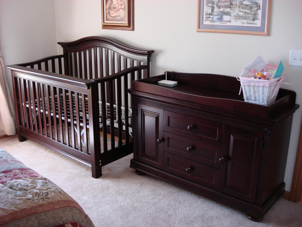 Crib Changing Table Dresser Set Home Furniture Design