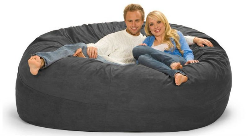Double Bean Bag Chair Home Furniture Design