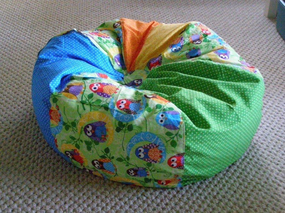 Homemade Bean Bag Chair Home Furniture Design