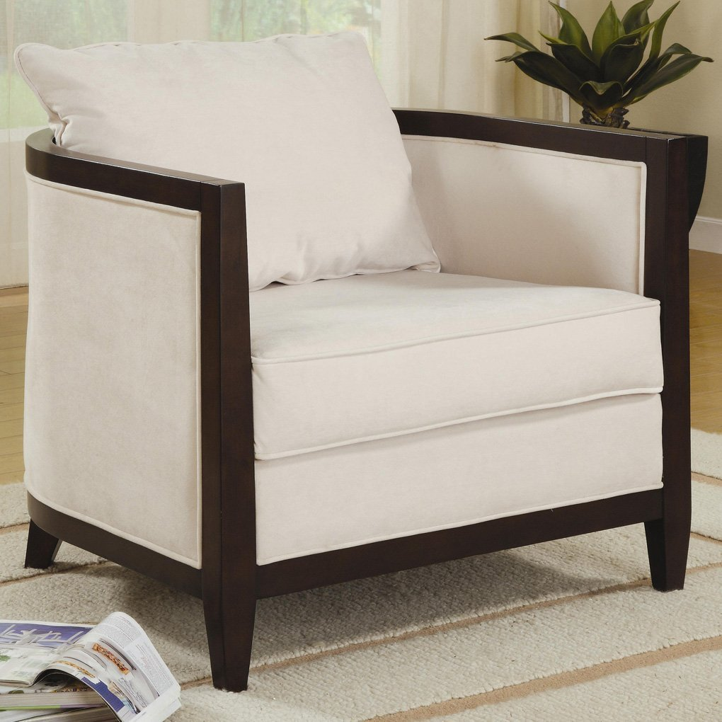 Ivory Accent Chair Home Furniture Design