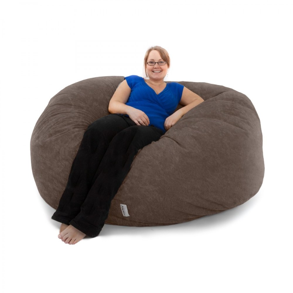 jumbo bean bag chairs home furniture design. Black Bedroom Furniture Sets. Home Design Ideas
