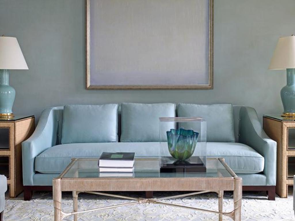 Light Blue Sofa Home Furniture Design