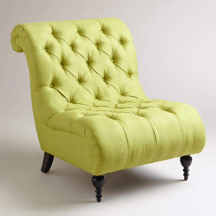 Lime Green Accent Chair For Living Room Home Furniture Design