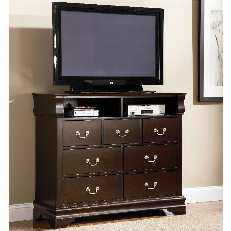 media dresser for bedroom home furniture design. Black Bedroom Furniture Sets. Home Design Ideas