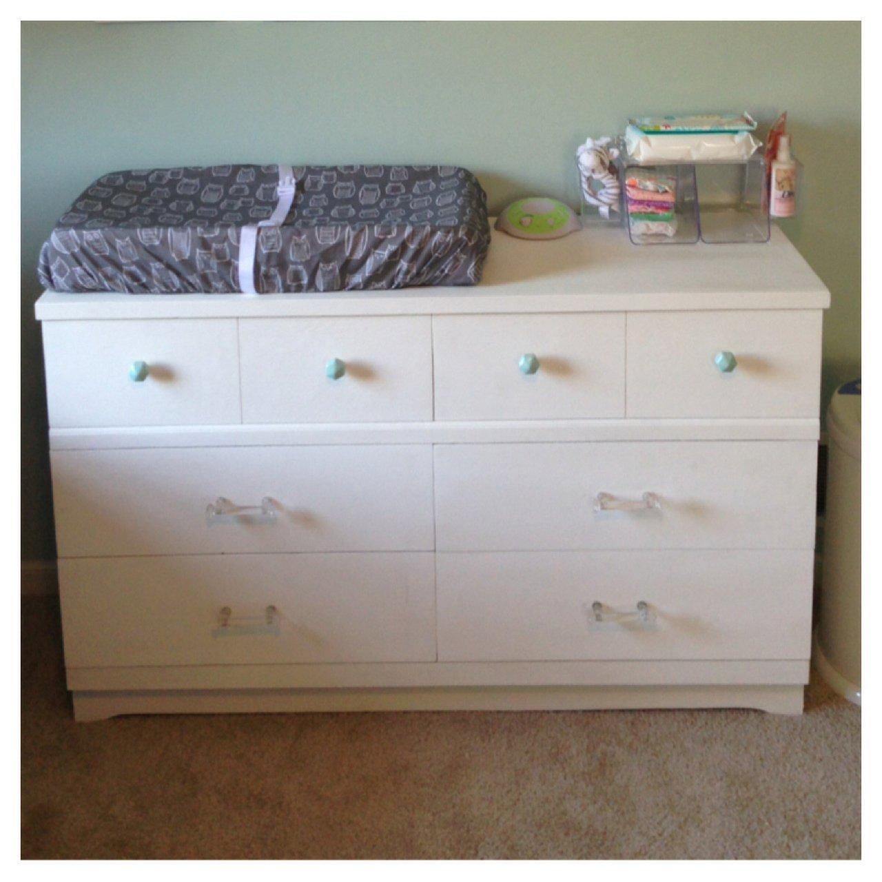 Nursery Dresser Changing Table Home Furniture Design