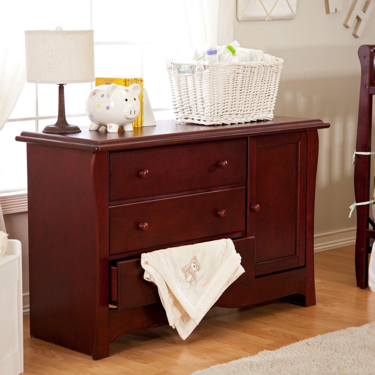 Oak Changing Table Dresser Home Furniture Design