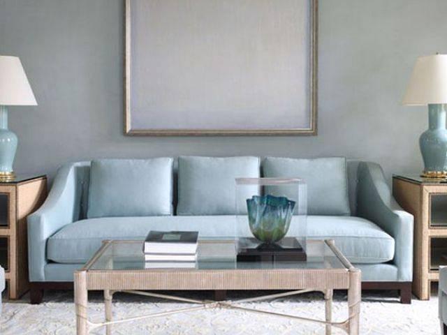 Pale Blue Sofa Home Furniture Design