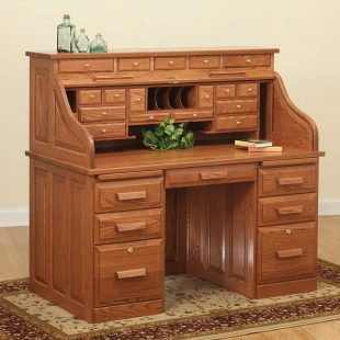 National Mt Airy Roll Top Desk Home Furniture Design