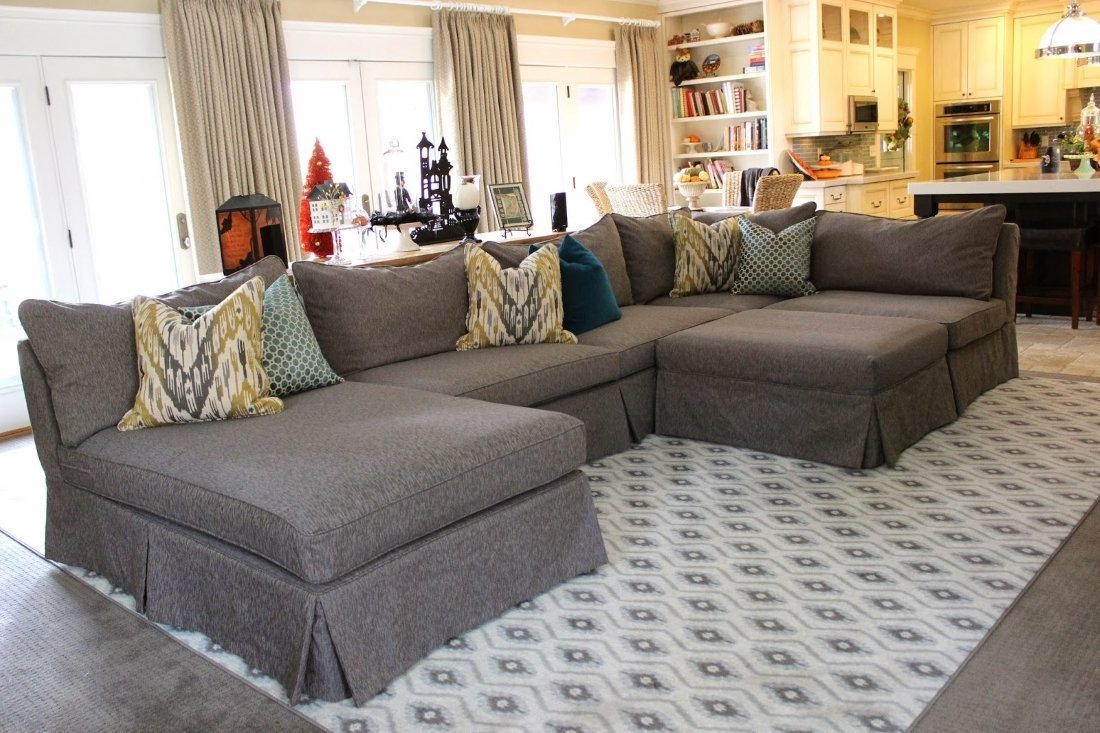 Sectional Slipcovers Cover The Imperfections Home