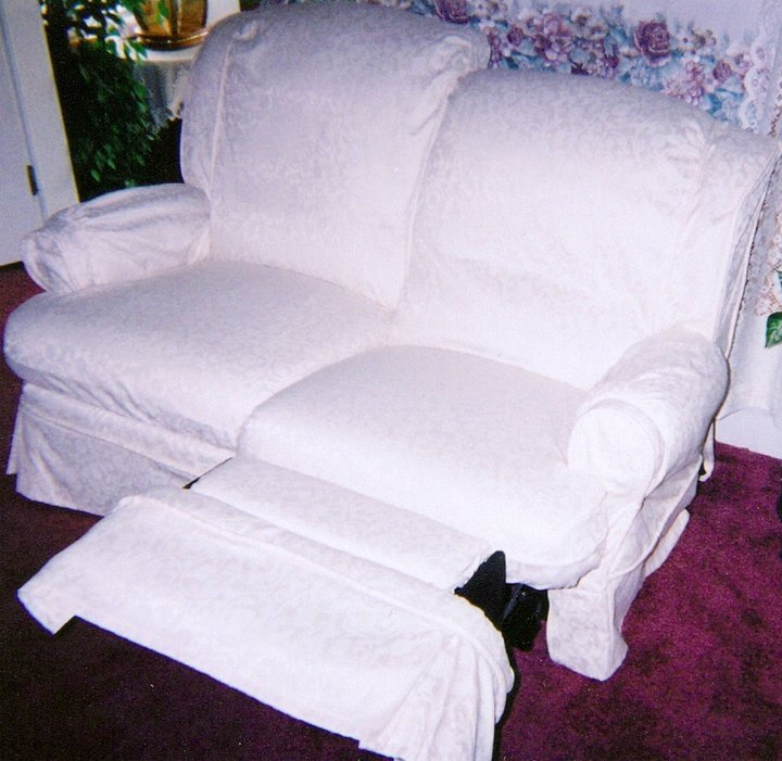 Slipcovers for Reclining Sofa and Loveseat - Home ...