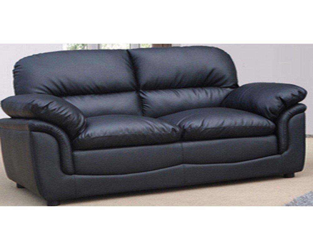 Small black sofa home furniture design for Small black couch