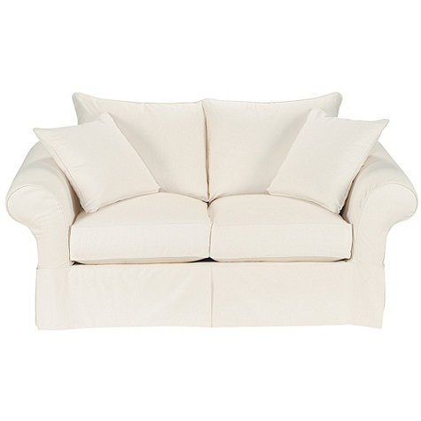 Small Loveseat Slipcover Home Furniture Design: white loveseat slipcovers